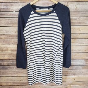 🌿Chris & Carol Long Sleeve Striped Dress Size M🌿